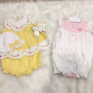 Other - 2 NWT Girls Outfits! Size 6-9 mo!